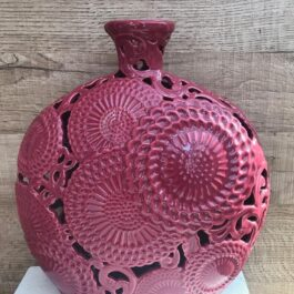 Vaso Ceramica Bordeaux H 30 cm