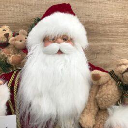 Babbo Natale 60 Cm con Lanterna