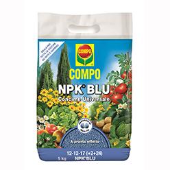 Compo NPK+ Blu 5 Kg