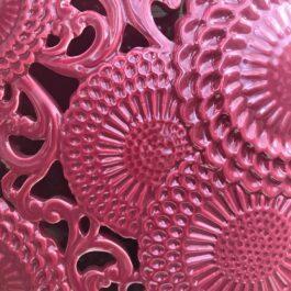 Vaso Ceramica Bordeaux H 45 cm