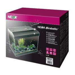 Acquario Mirabello 60 led Nero