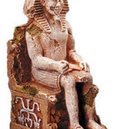 Decorazione Faraone su Trono