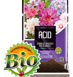 Terriccio Specifico ACIDOFILE TERCOMPOSTI