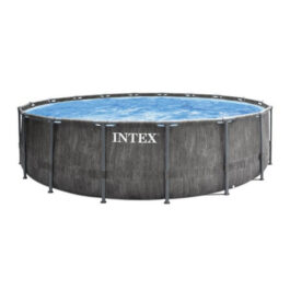 Piscina Intex Green Wood Cm 549 x h.122 Novita 2020