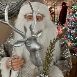 Babbo Natale con Cervo