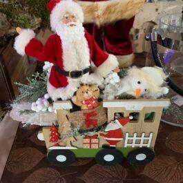 Babbo Natale Trenino