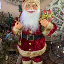 Babbo Natale Vestito Rosso pacco regalo