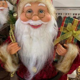 Babbo Natale vestito Rosso medio pacco regalo